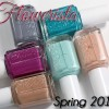 Essie Spring 2105 Flowerista Swatches & Review