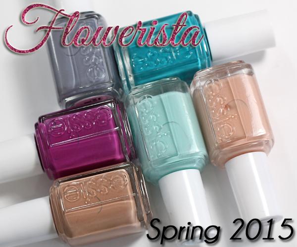 Essie Spring 2015 - Flowerista review via @alllacqueredup