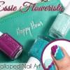 Essie Spring 2015 Nail Art featuring Flowerista & Garden Variety