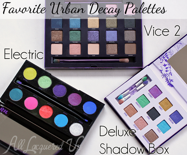 makeup wars my favorite urban decay products all lacquered up