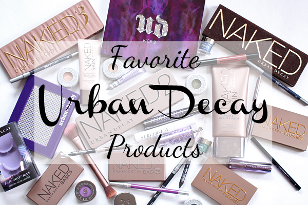 Favorite Urban Decay Makeup Products via @alllacqueredup