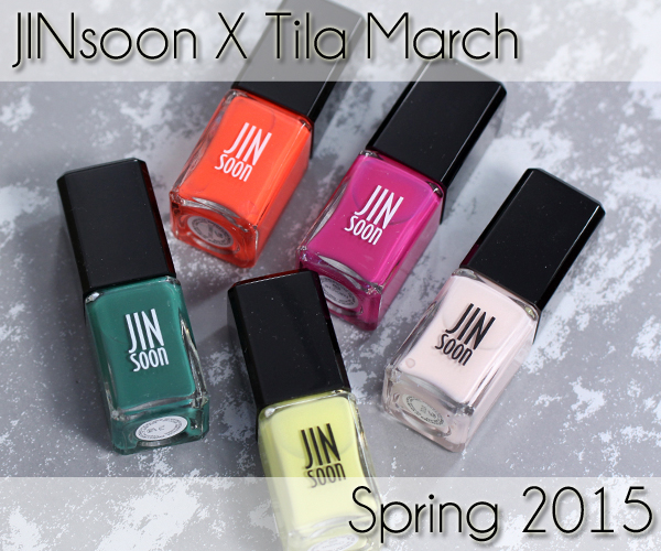 JINsoon Spring 2015 - JINsoon X Tila March Review via @alllacqueredup