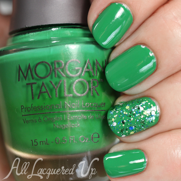 Morgan Taylor Later Alligator swatch via @alllacqueredup