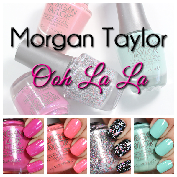 Morgan Taylor Ooh La La swatches via @alllacqueredup