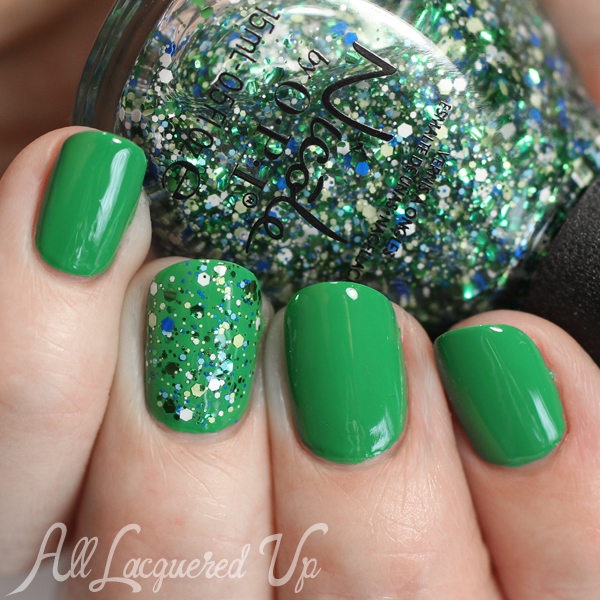 Nicole by OPI Seriously Citrus swatch via @alllacqueredup