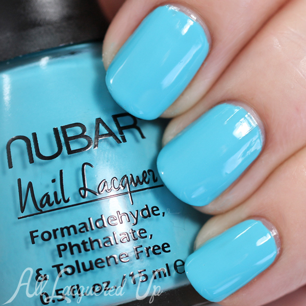 Nubar Fan Club swatch Spring 2015 via @alllacqueredup