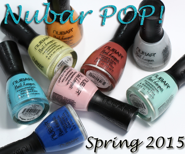 Nubar Spring 2015 - Pop! collection review via @alllacqueredup
