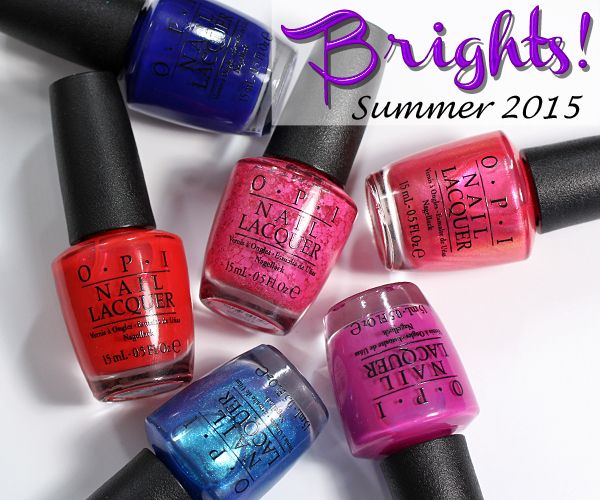 OPI Brights 2015 for Summer review via @alllacqueredup