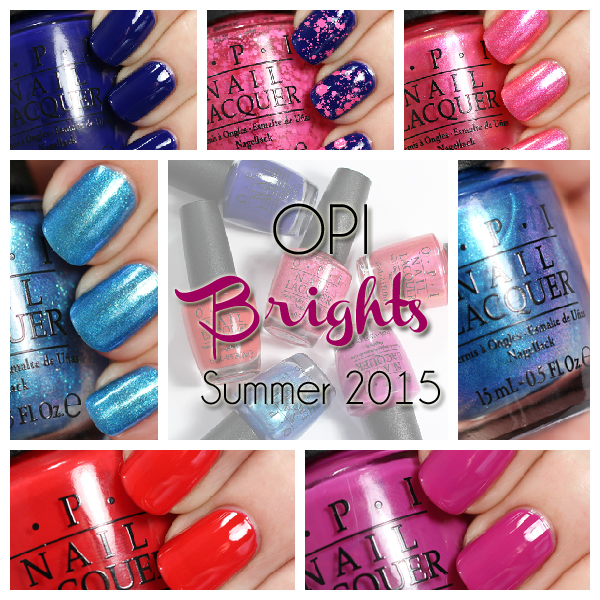 OPI Brights 2015 swatches via @alllacqueredup