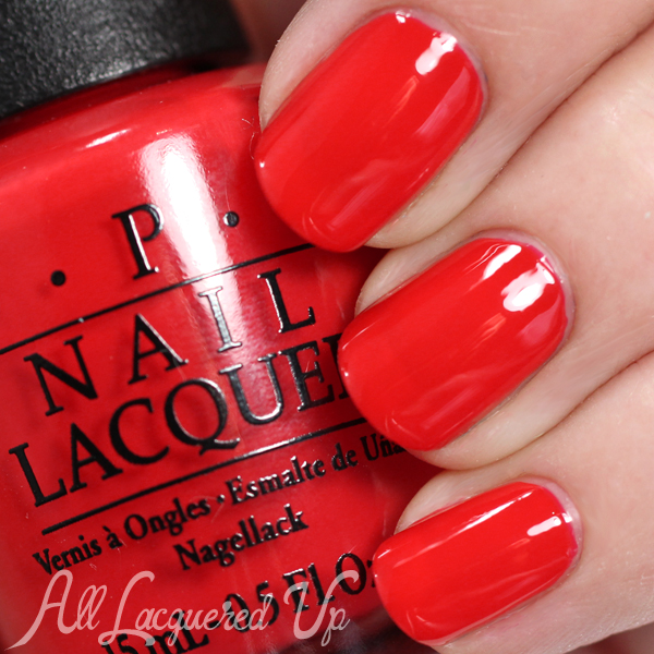 OPI I STOP for Red swatch - Brights 2015 via @alllacqueredup