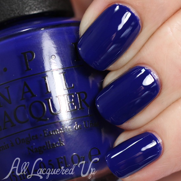 OPI My Car Has Navy-gation swatch - Brights 2015 via @alllacqueredup