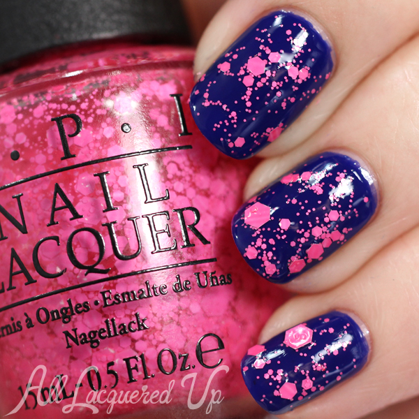 OPI On Pinks & Needles swatch - Brights 2015 via @alllacqueredup