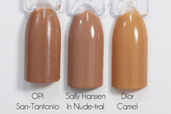 Sally Hansen In Nude-tral swatch comparison via @alllacqueredup