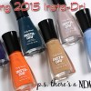 Sally Hansen Insta-Dri Spring 2015 Swatches & Review