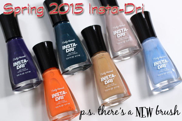 Sally Hansen Insta-Dri Spring 2015 review via @alllacqueredup