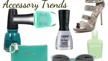 Spring 2015 Nail Trends (Paired with Accessories)