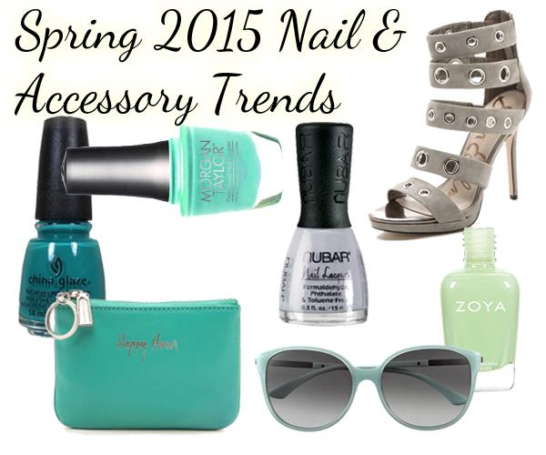 Spring 2015 Nail Trend Color via @alllacqueredup