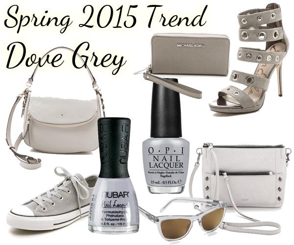 Spring 2015 Nail Trend - Dove Grey via @alllacqueredup