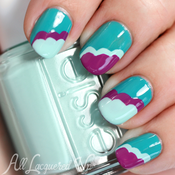 Essie spring 2015 nail art all lacquered up spring nail art with essie flowerista via alllacqueredup prinsesfo Image collections