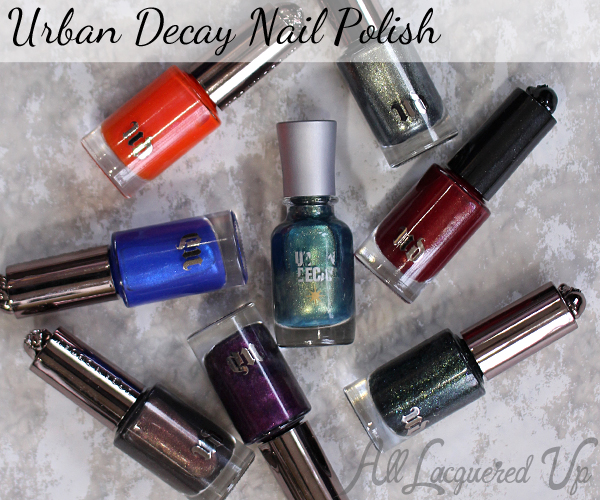 Urban Decay Nail Polish via @alllacqueredup