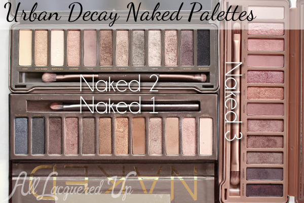 Urban Decay Naked Palettes via @alllacqueredup