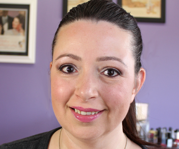 Urban Decay Naked Skin Foundation FOTD via @alllacqueredup
