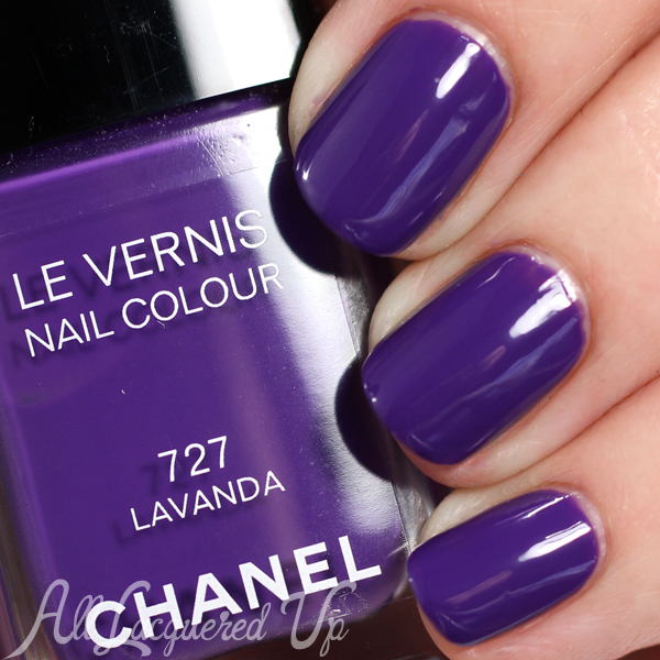 Chanel summer 2015 nail polish swatches review all - Color lavanda ...