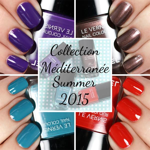 Chanel Summer 2015 Nail Polish Swatches Via Alllacqueredup