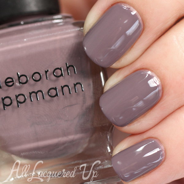 Deborah Lippmann Love in the Dunes swatch - Summer 2015 via @alllacqueredup