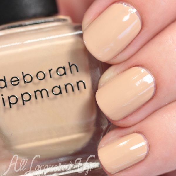 Deborah Lippmann Shifting Sands swatch - Summer 2015 via @alllacqueredup