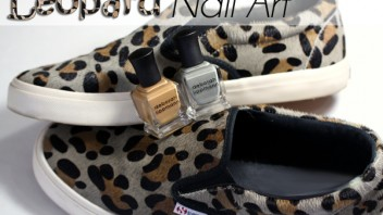 Leopard Nails with Deborah Lippmann Summer 2015