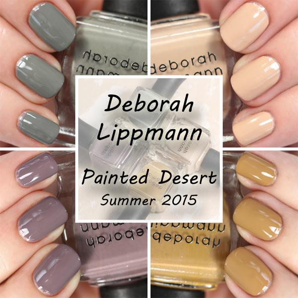 Deborah Lippmann Summer 2015 swatches via @alllacqueredup