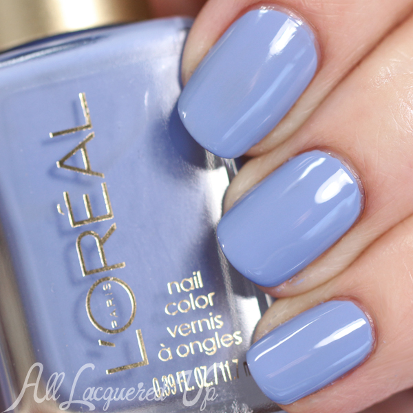 L'Oreal Spring Showers swatch - Spring 2015 Haute Florals via @alllacqueredup