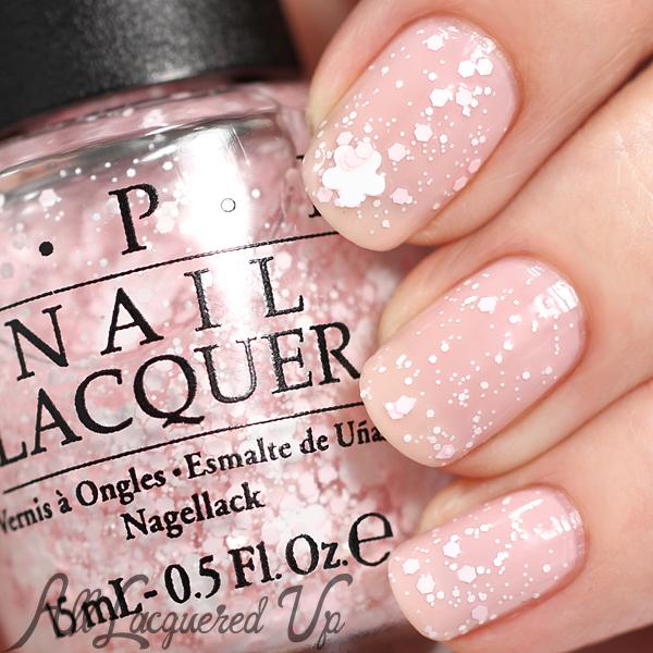 OPI Petal Soft glitter - Soft Shades 2015 via @alllacqueredup