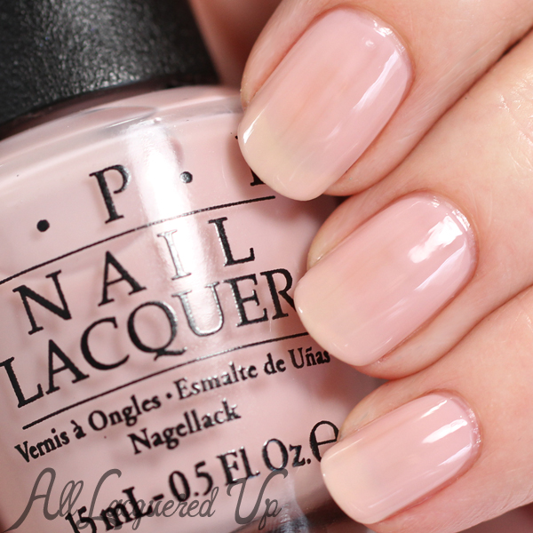 OPI Put it in Neutral swatch - Soft Shades 2015 via @alllacqueredup