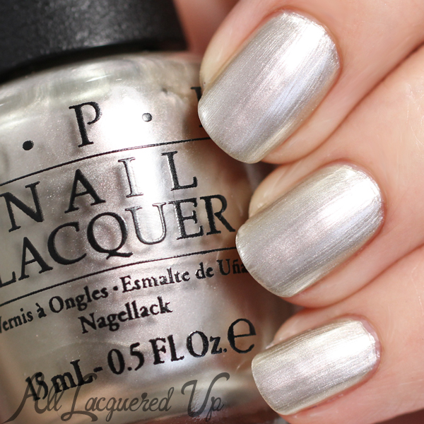 OPI This Silver's Mine swatch - Soft Shades 2015 via @alllacqueredup