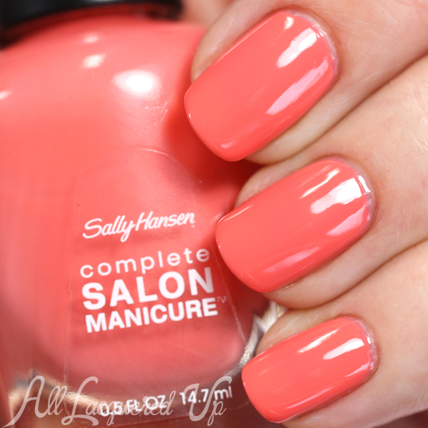 Sally Hansen Kashmir Valley swatch - Spring 2015 Prabal Gurung via @alllacqueredup