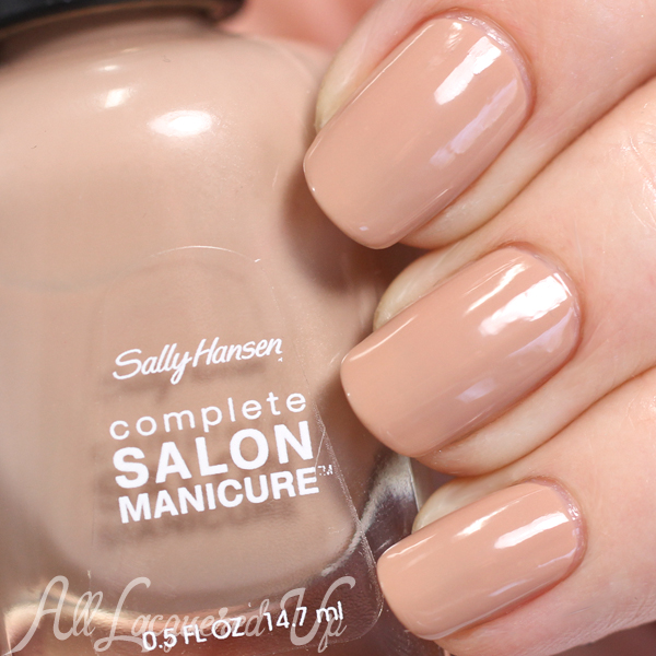 Sally Hansen Pale Sand swatch - Spring 2015 Roadarte via @alllacqueredup