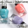 Sally Hansen Spring 2015 – Prabal Gurung Swatches & Review