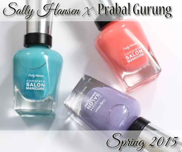 Sally Hansen Spring 2015 Prabal Gurung review via @alllacqueredup