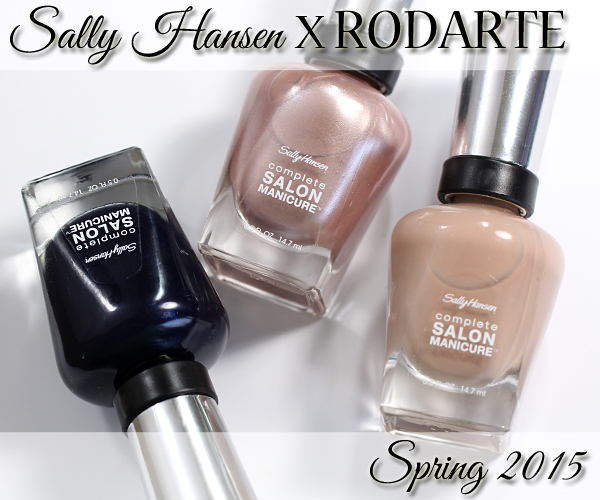 Sally Hansen Rodarte Spring 2015 review via @alllacqueredup