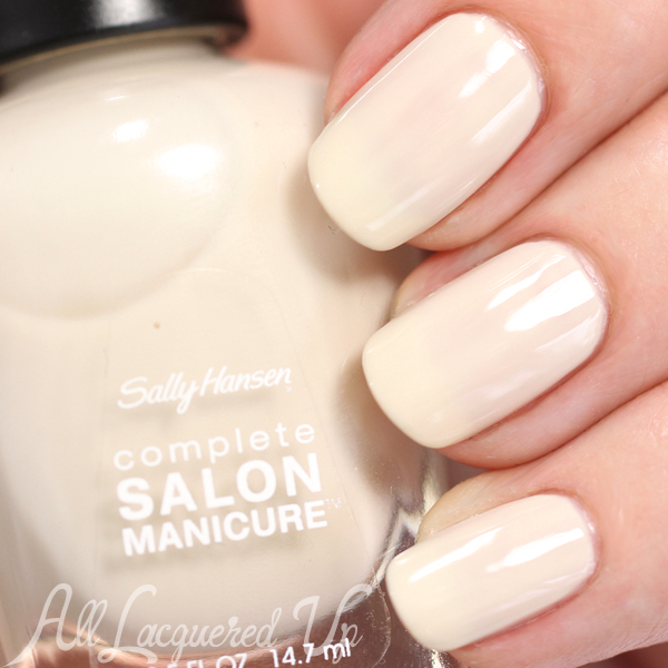 Sally Hansen Sheer Force swatch via @alllacqueredup