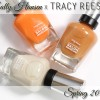 Sally Hansen Spring 2015 Tracy Reese Swatches & Review