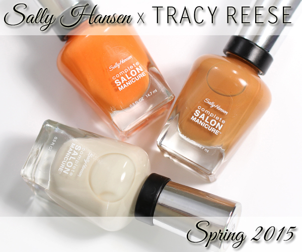 Sally Hansen Spring 2015 Tracy Reese review via @alllacqueredup
