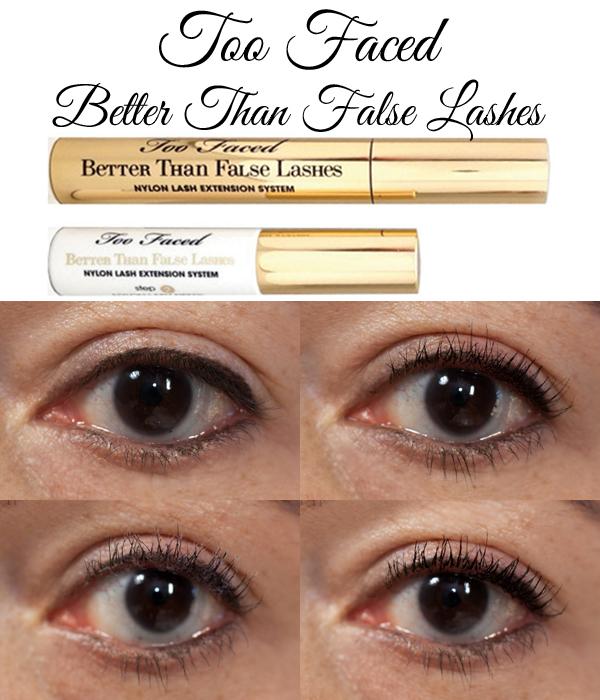 Too Faced Better Than False Lashes Mascara via @alllacqueredup
