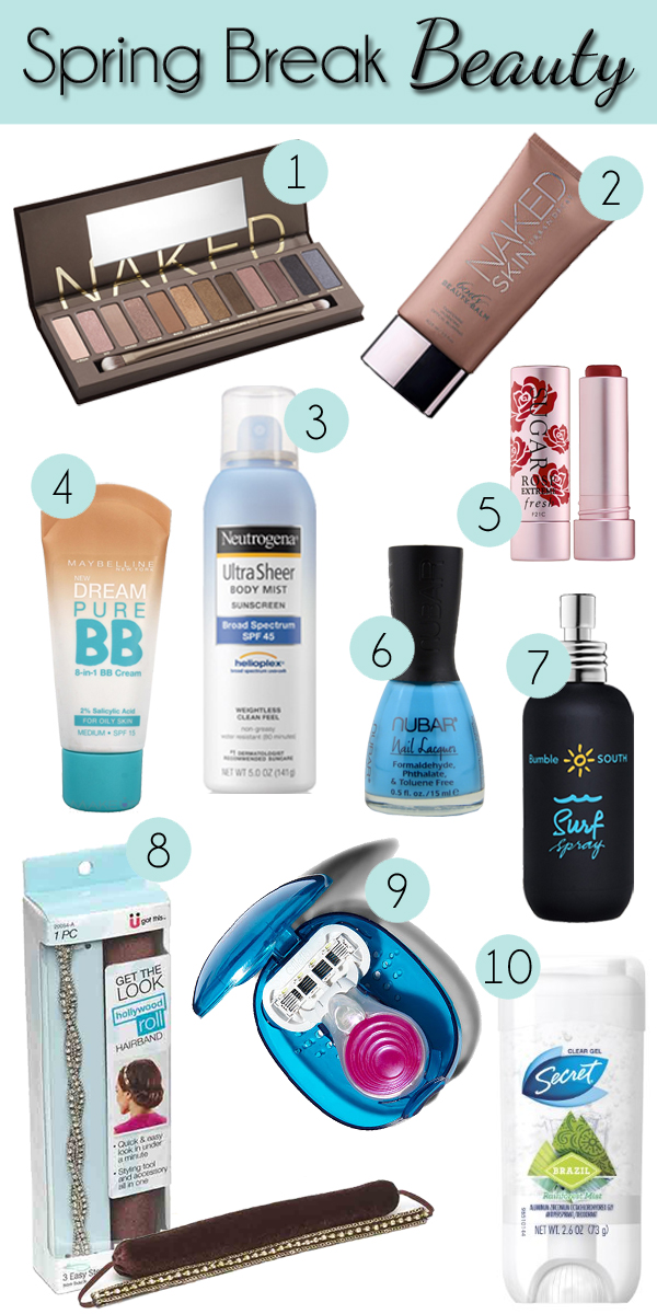 Best of Spring Break Beauty via @alllacqueredup