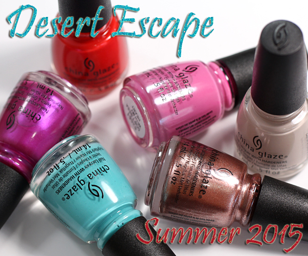 China Glaze Desert Escape - Summer 2015 via @alllacqueredup