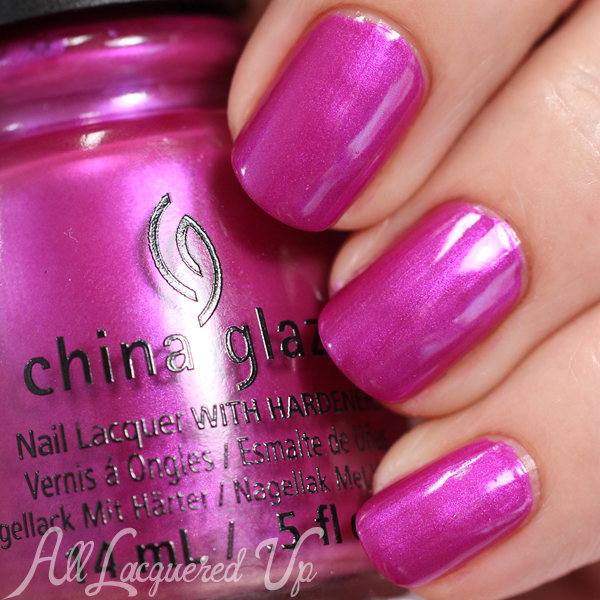China Glaze Don't Desert Me swatch - Desert Escape via @alllacqueredup