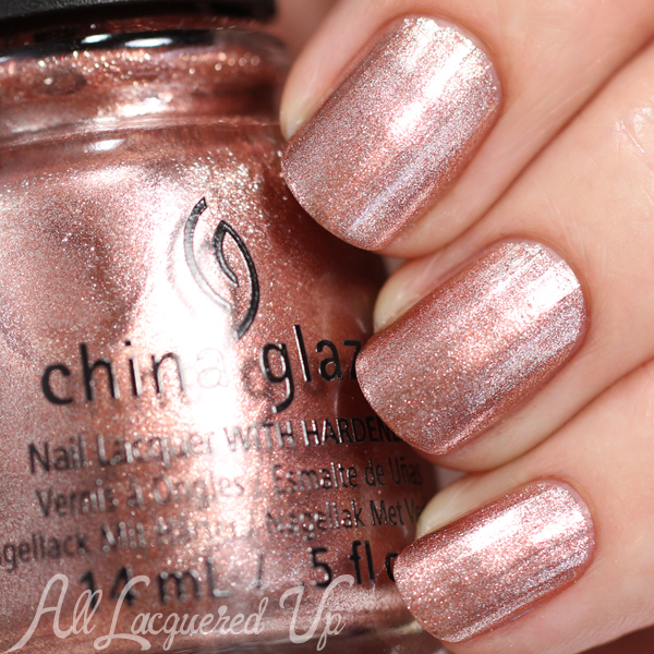 China Glaze Meet Me at the Mirage swatch - Desert Escape via @alllacqueredup