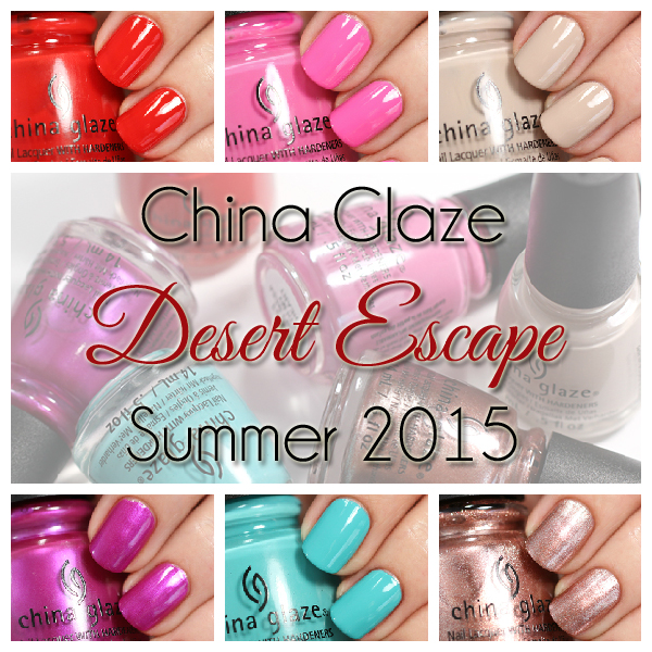 China Glaze Desert Escape swatches via @alllacqueredup